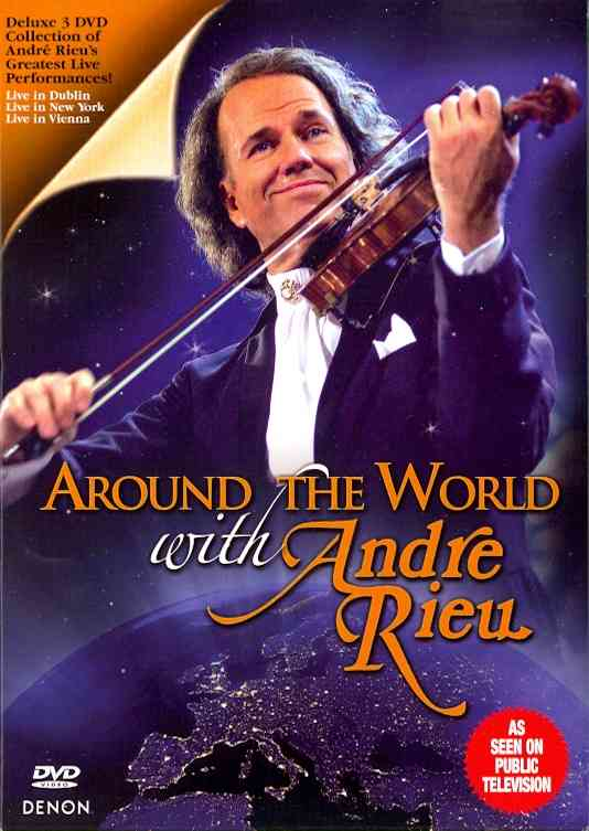 AROUND THE WORK WITH ANDRE RIEU BY RIEU,ANDRE (DVD)